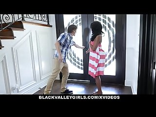 Blackvalleygirls peeping tom fucked by cute black teen