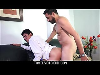 Latino Twink Step Son Spanked And Fucked By Step Dad