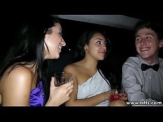bffs prom night sex in the limo
