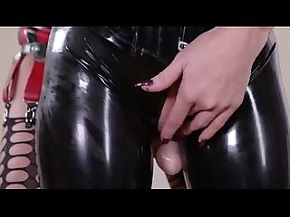 Latex slave lesbian punishment P2 myfuckingwebcam com