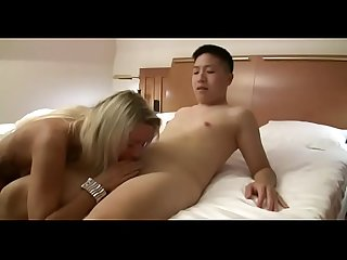 Virgin asian boy gets his first fuck from hot milf watch part2 on porn4us org