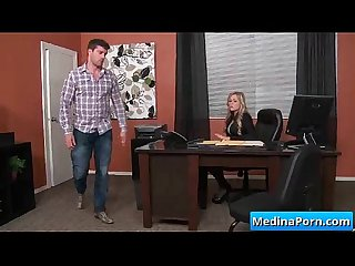 Hot busty secretary nailed by her boss in the office 08