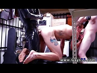 Gay fuck dungeon sir with a gimp