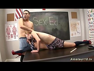 flexi schoolgirl loves acrobatic sex