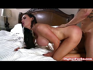 Elegant doggystyled milf gets it deep