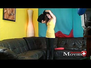 Porn interview with teen model cleopatra 18y