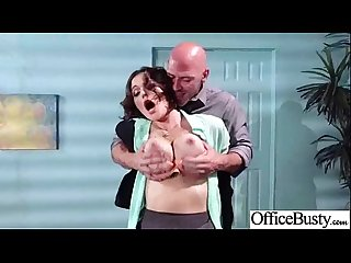 Superb girl lpar krissy lynn rpar with big tits get hardcore sex in office movie 22