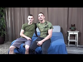 ActiveDuty - Military Twink Takes It Raw