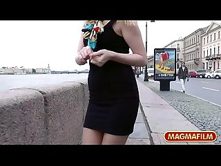 Magma film anal german babe flashes in public
