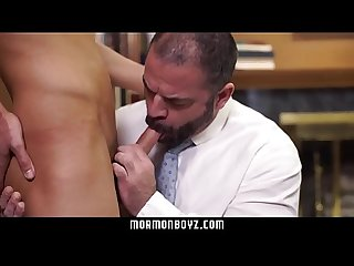 Mormonboyz missionary stud tops a daddy priest