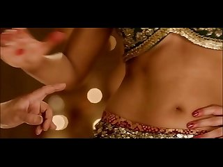 (Part 1) Indian actress Katrina Kaif hot bouncing boobs cleavage navel legs thighs..