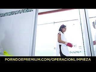 Operacion Limpieza steamy pov sex with hot latina cleaning lady ariana fuentes