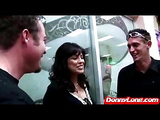 Donny long fucks milf mom asshole with his boy j