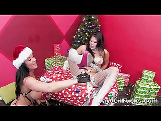 Xmas fun with london and jayden jaymes