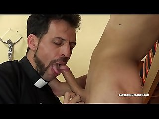 Priest Barebacks Young Dimitri