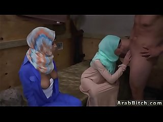 Arab Honeymoon couple and teen anal operation pussy run