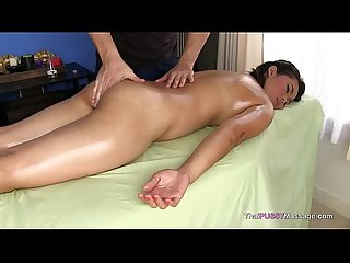 Thai girl body massage and bareback fuck