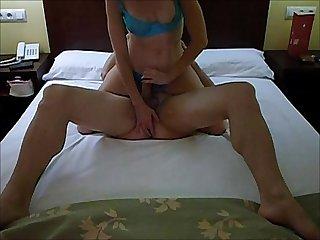 Handjob prostate hotel cumshot amateur