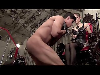 Muscle slave boy Tortured