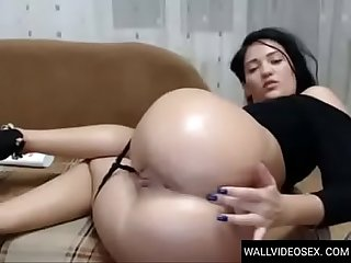 Wallvideosex anal masturbation Girl cam big ass pt period 1