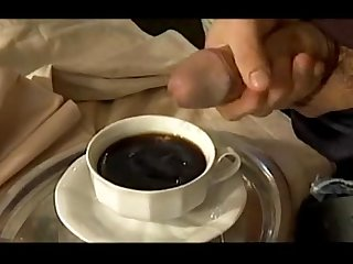 Do you want to milk in the coffe its tasty quieres leche en el caf toma