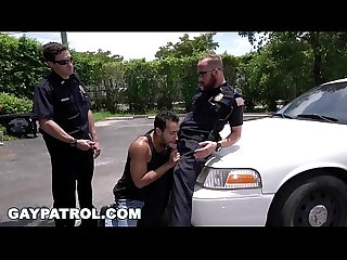 GAY PATROL - Dude Was Tryin' To Get A Happy Ending, But Cops Shut Him Down