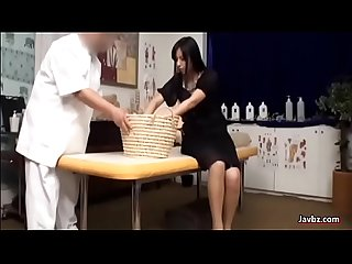 Japanese girl massage comma out of the world reaction excl excl excl