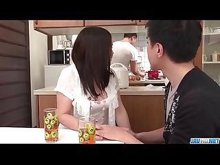 Sanae akino blows hubby before going to work more at javhd net