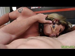 Latina shemale amanda fialho bareback fucked