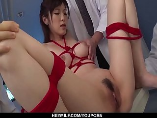 Sara Yurikawa goes crazy on toys in real XXX - More at Japanesemamas com