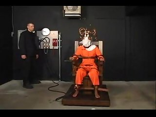 Black girl electric chair sex