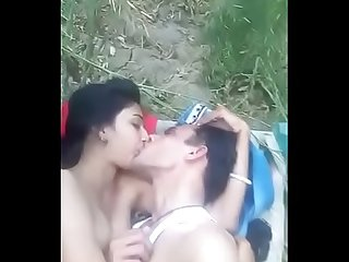 Desi couple in wild