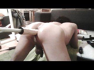 Extrem anal fucking machine