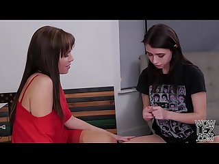 Virgin lesbian lucie cline meets with Alana cruise