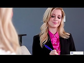 Lesbian job interview charlotte stokely and elsa jean