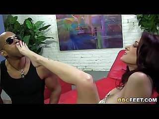 Tiffany mynx interracial footjob