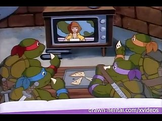 Tmnt hentai April interviews rat king