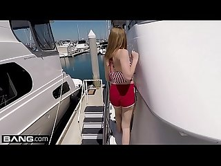 Bisex & barely legal teen Rosalyn Sphinx fucked on a boat