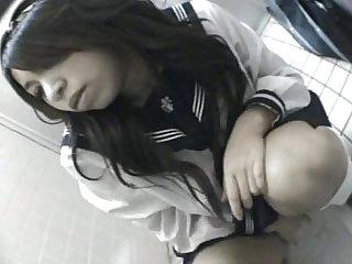 Masturbating schoolgirl 02