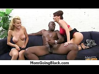Hot milf fucks hard an huge black cock 22
