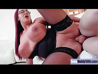 Big Tits Housewife (Emma Butt) On Cam In Hard Style Sex Action video-10