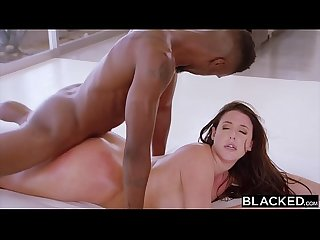 BLACKED Angela White enourmous natural tits are perfect for bbc
