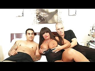 Two young horny boys with an horny milf wih huge natural tits - Milfsex
