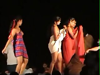 Telugu open recording dance
