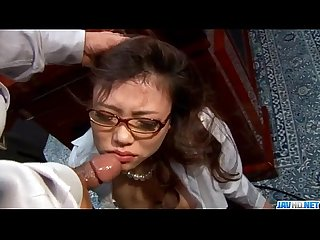 Perfect sex Story along asian secretary ibuki