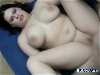 Hot Chubby Teen with Shaven Pussy Riding Bfs Cock - 8bbw.com