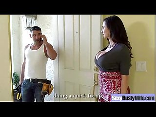 Busty Housewife (ariella ferrera) Like Hard Style Intercorse On Cam movie-05