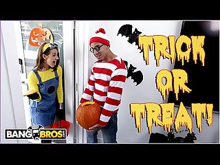 Bangbros trick or treat smell evelin stone s feet bruno gives her something good to eat