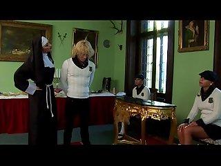 Femdom ass gets a spanking