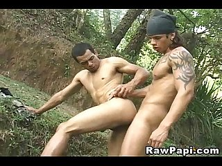 Hot latino gay army raw fuck